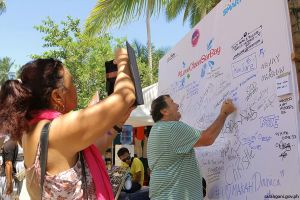 Tourists want clean Sarbay