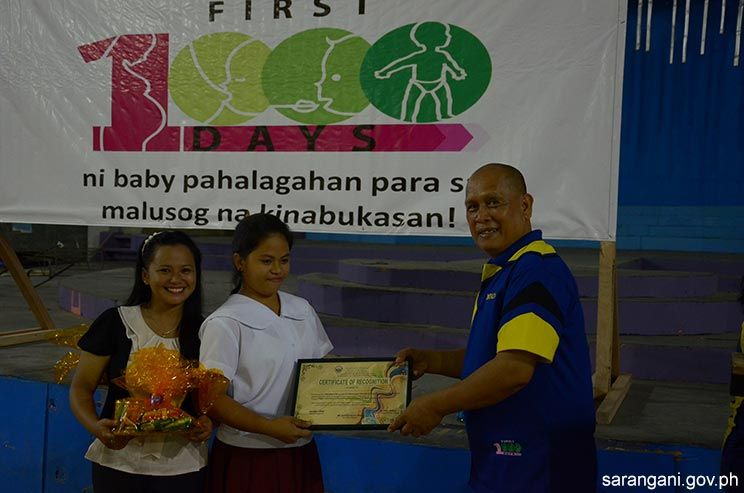 Nutrition quiz show winner awarded