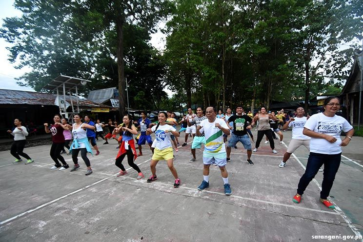 Zumba at the park