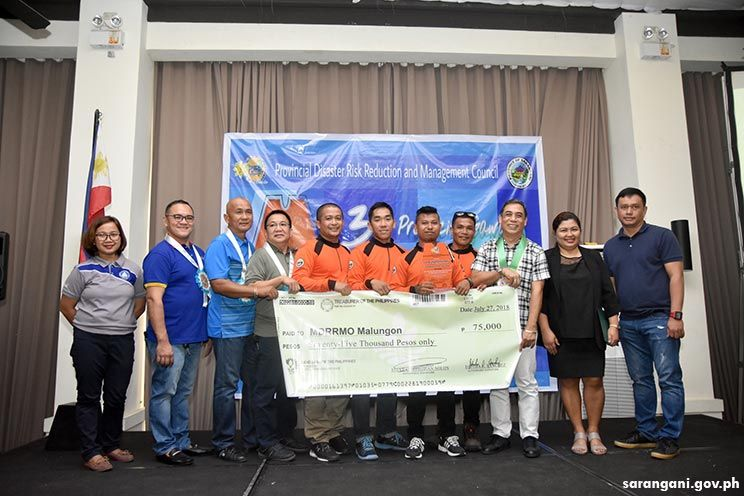 Malungon Best Municipal Disaster Risk Reduction Council