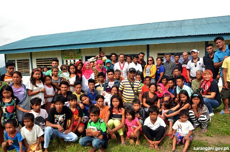 Tboli village receives Community Peace Center