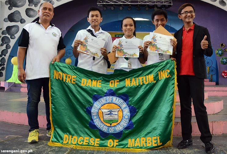 NDM sweeps nutrition quiz bee awards