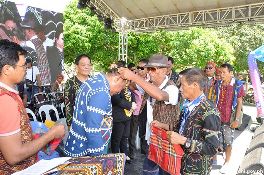 Tribal leaders give recognition to Mayor-elect Sumbo