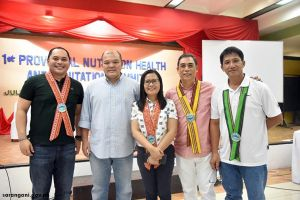 1st Provincial Nutrition, Health and Sanitation Summit