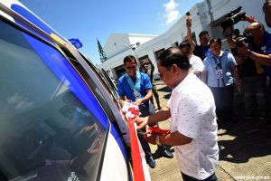 Maitum gets PCSO ambulance