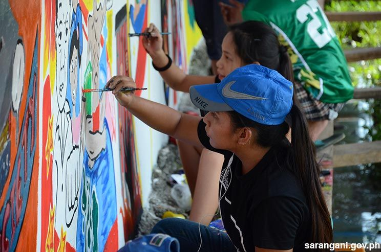 Project BRYAN holds wall painting contest