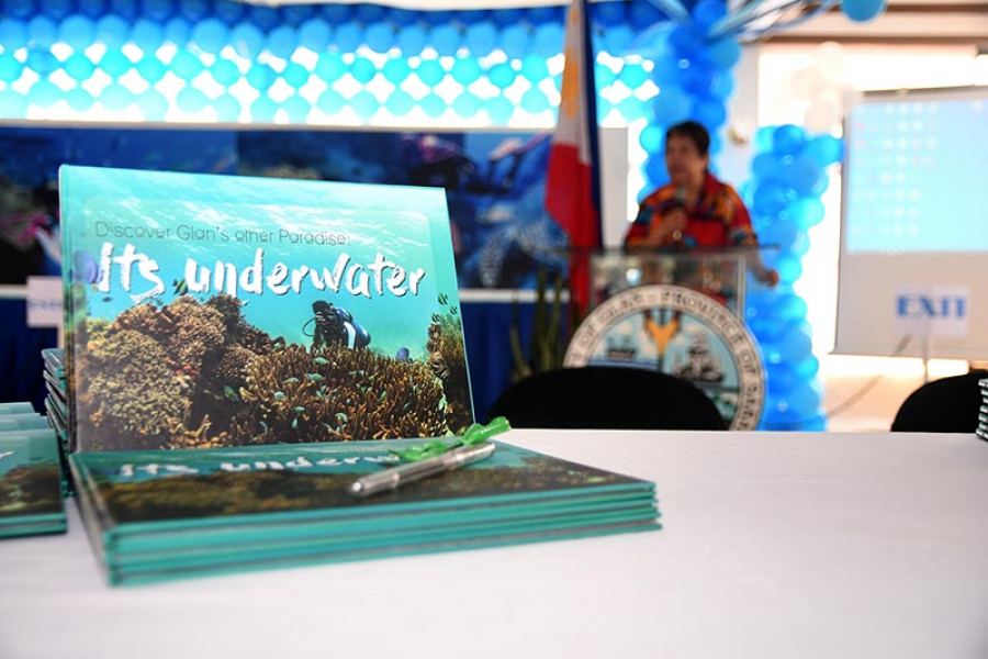 "Coffee Table Book ""Discover Glan's other Paradise: Its Underwater"" off the press!"