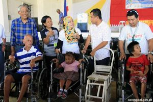 39 PWDs, senior citizens get free wheelchairs