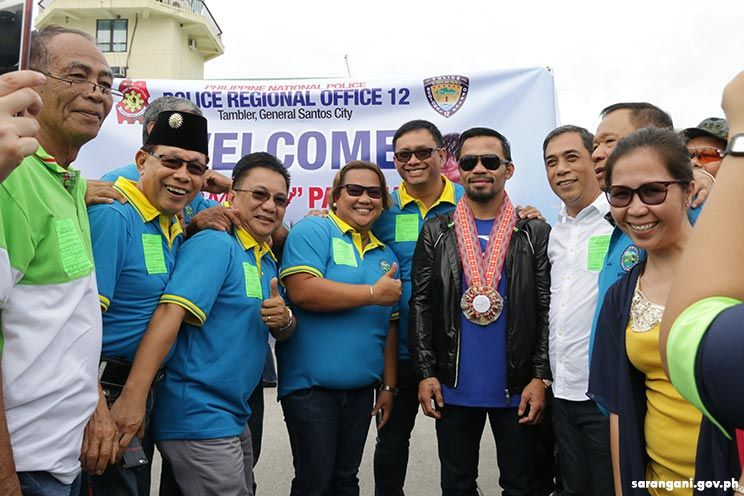 Sarangani welcomes beloved hero