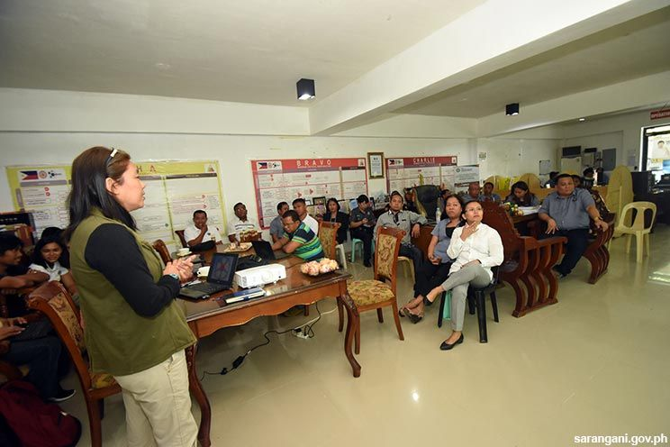 Sulong Sarangani team updates Malungon officials