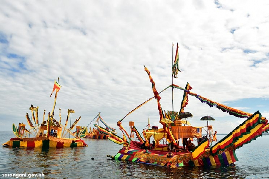 Colorful boats featured in Guinakit sa Sugoda Malapatan