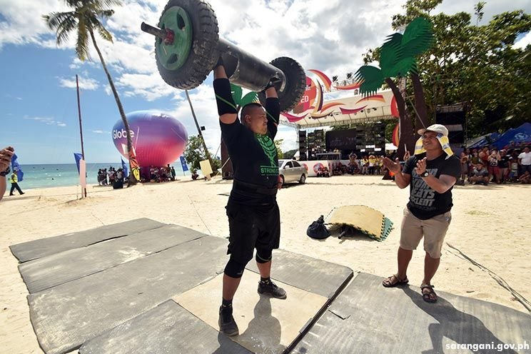 Strongman makes Sarbay debut