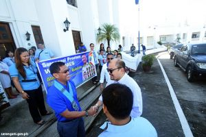PCSO general manager turns over ambulances to Sarangani