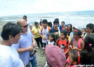 Gov. Solon educates students on disaster preparedness