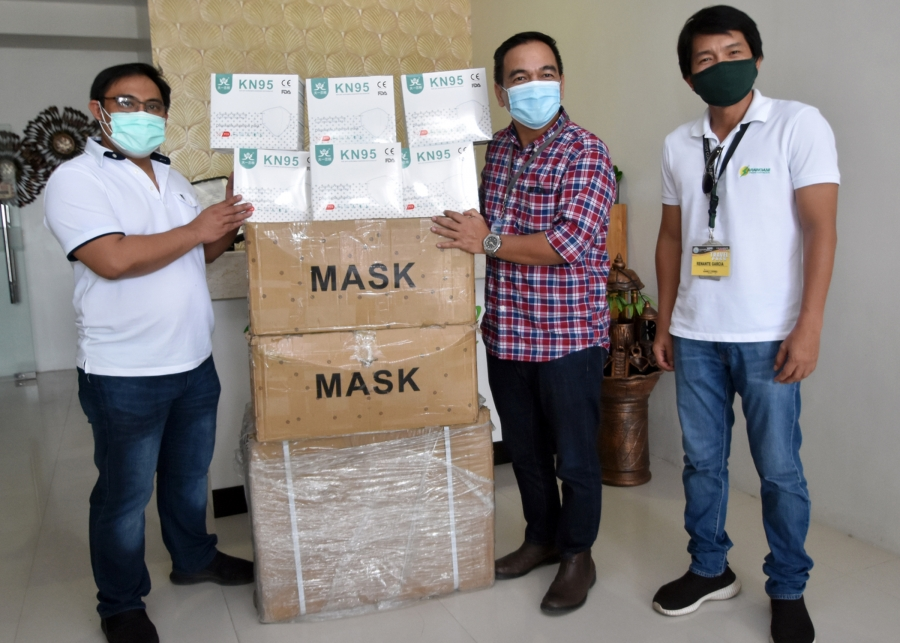 CLAFI gives face masks to Sarangani frontline workers