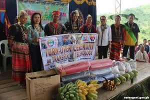 Support project for tribal women