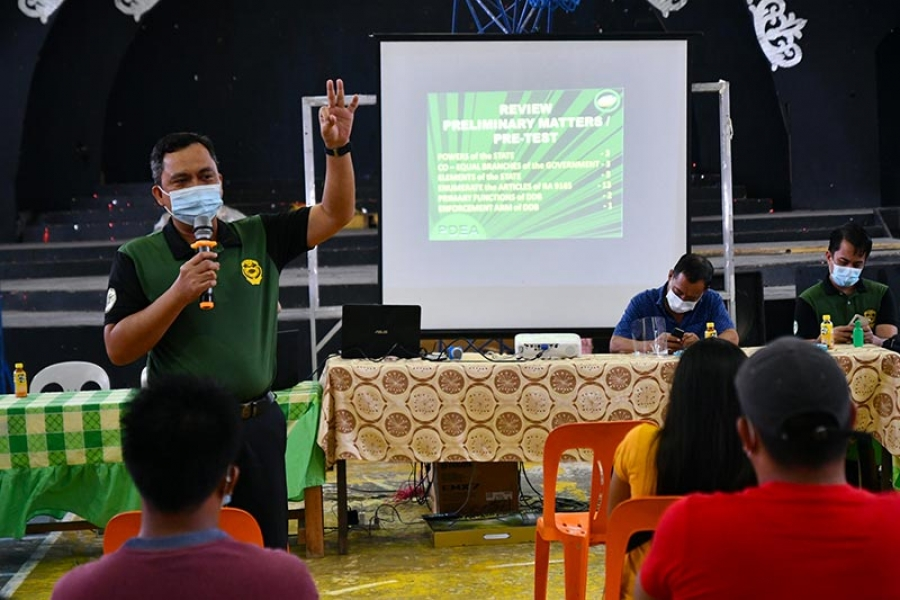 Measures towards prevention, eradication of drug abuse pushed by PDEA, DILG