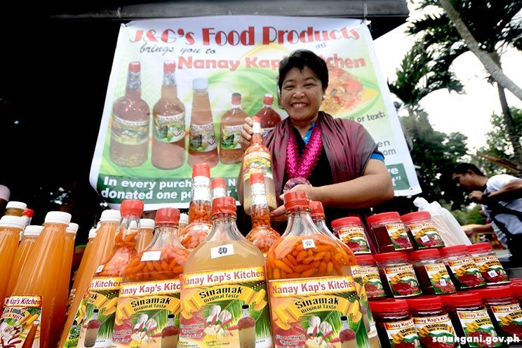 Local products spice up Pakaradyan Festival